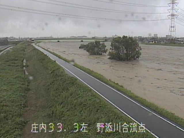 名古屋 河川氾濫 避難情報画像