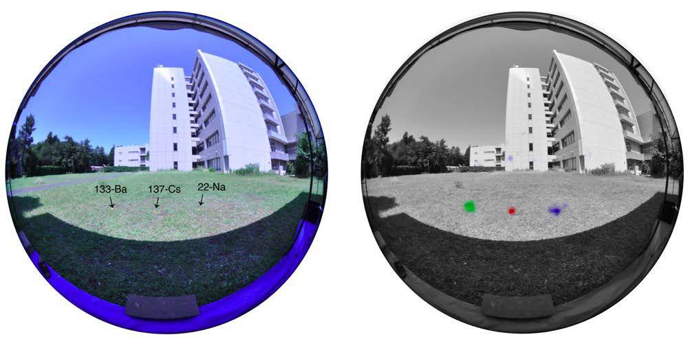 「超広角コンプトンカメラ」による放射性物質の可視化