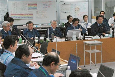 原発事故時の菅元首相の発言を東電が記録