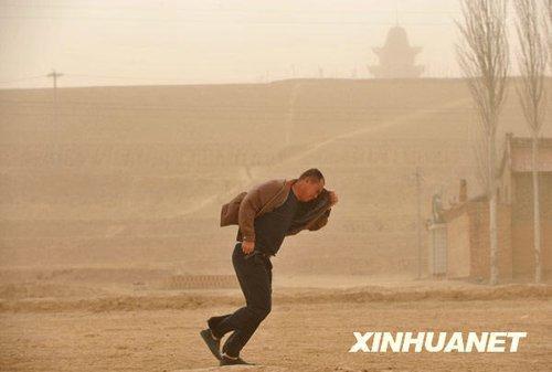 中国黄砂とともにPM2.5が飛来