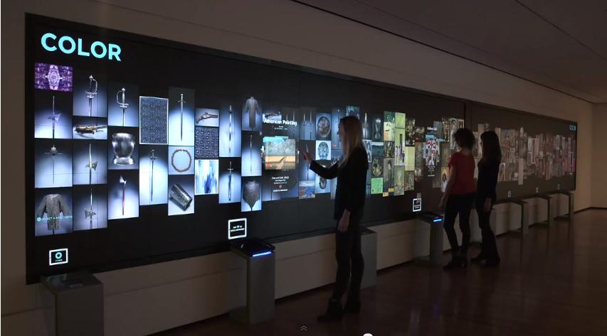 Gallery-One全面液晶タッチパネル