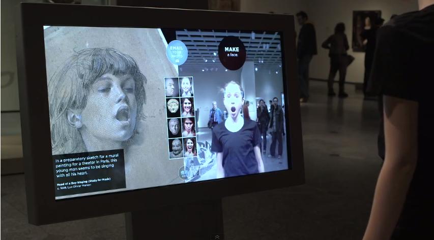 Gallery-Oneで美術品と同じ動きができるギャラリー
