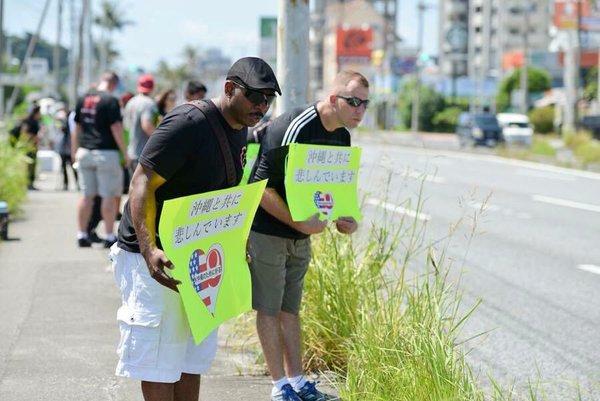 米兵による沖縄女性遺体遺棄事件で謝罪するアメリカ人2