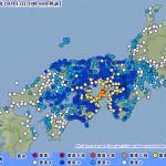 関西で淡路島を中心に震度6弱の地震
