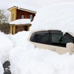 山梨県大雪被災状況